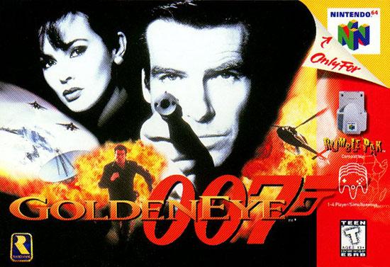 GoldenEye N64 box art