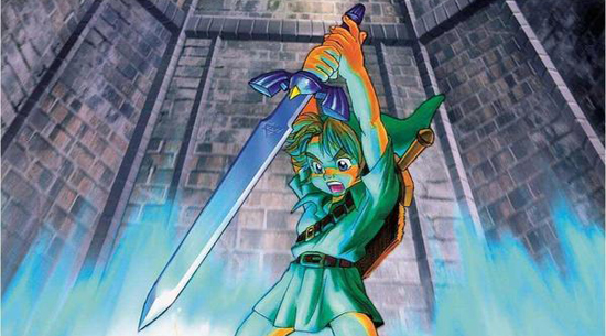 Ocarina of Time official artwork