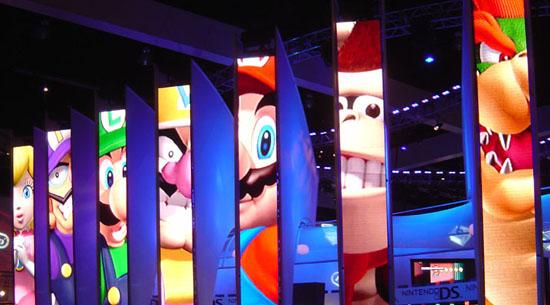 Mario line-up