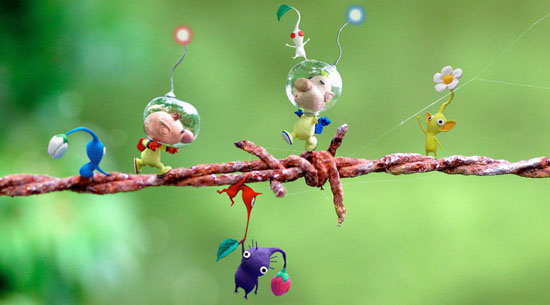Pikmin 2 official art