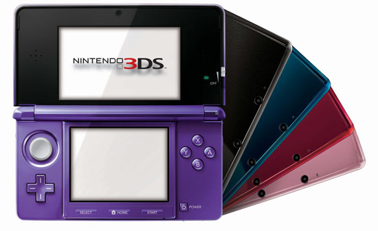 3DS Midnight Purple