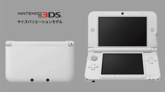 First glimpse of 3DS LL/XL, Update: coming to North America August 19th