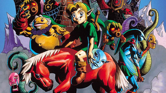 Majora's Mask official art