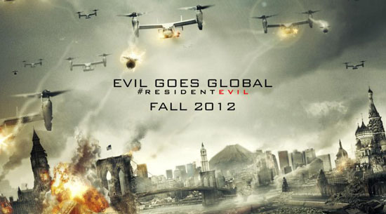 New Resident Evil Retribution trailer explains large returning cast
