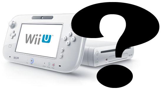 Wii U questions