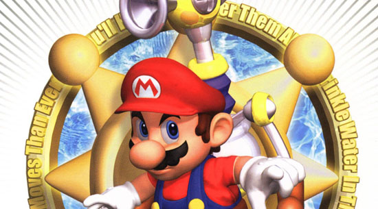 Super Mario Sunshine boxart