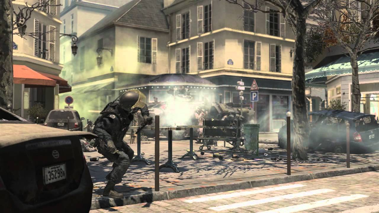 Modern Warfare 3 trailer has come for a visit