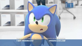 Sonic and Progressive team up, confuse my sexuality