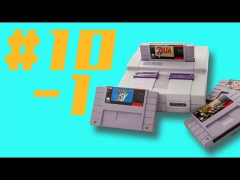 The Definitive 50 SNES Games: #10-1