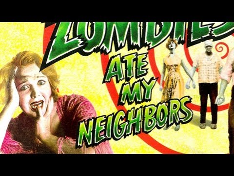 The Definitive 50 SNES Games: #37 Zombies Ate My Neighbors