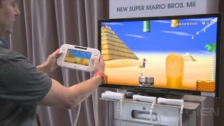 Wii U demo: New Super Mario Bros. Mii
