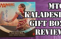 MTG Kaladesh Gift Box Review/Unboxing
