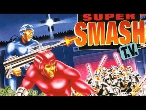 The Definitive 50 SNES Games: #30 Super Smash TV