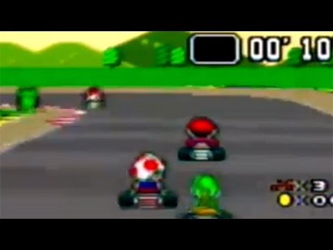 The Definitive 50 SNES Games: #7 Super Mario Kart